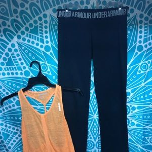 Woman's Reebok & Under Armour Active Wear Set